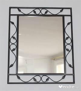 Déco Fer Forgé Mural : miroir mural en fer forg conforama ~ Teatrodelosmanantiales.com Idées de Décoration
