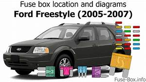 Fuse Box Location And Diagrams  Ford Freestyle  2005-2007