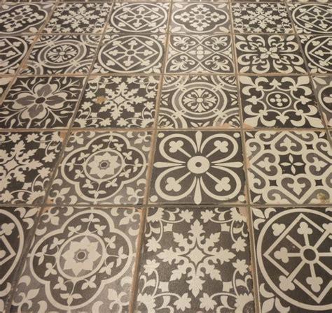 Vintage Decorative Tiles Sydney  Mediterranean Bathroom