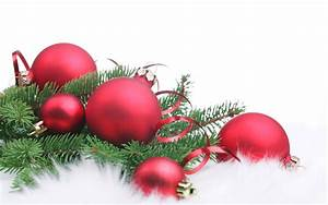 Red Christmas decorations - Christmas Wallpaper (22228020
