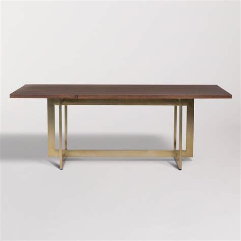 manhattan dining table alder tweed furniture