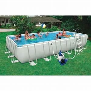 Piscine Hors Sol Rectangulaire Intex : kit piscine tubulaire 7 32 x 3 66 x 1 32 m achat vente piscine kit piscine 7 32x3 66x1 32m ~ Melissatoandfro.com Idées de Décoration