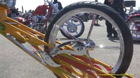 2015 Sturgis Rat's Hole Shows Long Chopper With Sidedraft