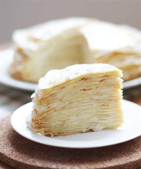 easy vanilla crepe cake recipe yum   crepe cake