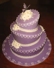 purple wedding cake let them eat cake purple wedding cake