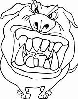 Coloring Pages Funny Printable Dog Scary Face Angry Trolls Animals Popcorn Dogs Amazing Clipartmag Bestcoloringpagesforkids Categories Coloringpagesonly sketch template