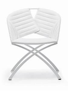 Farbe Weiss Oder Weiß : portofino stuhl midj aus metall sitz mit leder kunstleder oder stoff bezogen sediarreda ~ Orissabook.com Haus und Dekorationen