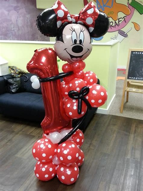 Mickey And Minnie Balloon Decorations - 17 best ideas about minnie mouse balloons on