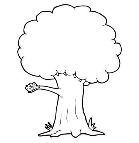 mewarnai gambar pohon warna gambar seni abstrak
