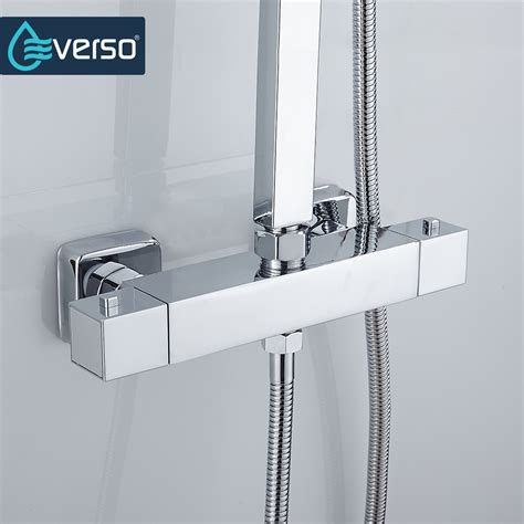 Thermostatic Shower Faucet by Everso Thermostatic Mixing Valve Bathroom Shower Set