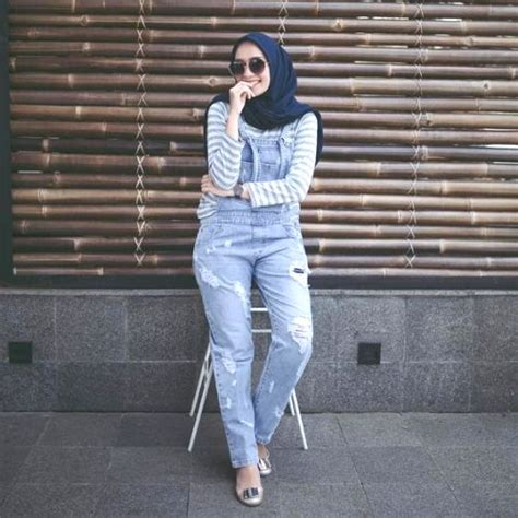 How to wear jumpsuits with hijab u2013 Just Trendy Girls