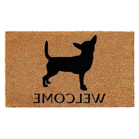 Chihuahua Doormat by Chihuahua Doormat Pets And Dogs