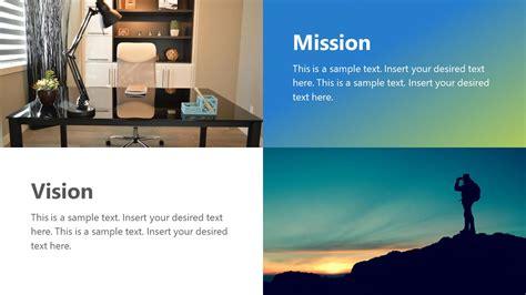 individual vision  mission  slidemodel