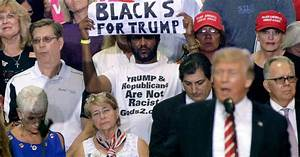 Poll: Trump support among black voters up this week … to ...