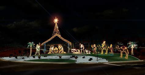 commercial grade nativity scenes temple display