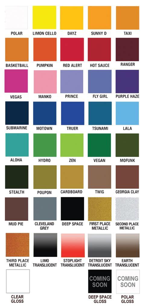 colors plutonium paint