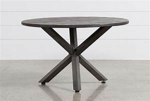 Outdoor Tortuga Round Dining Table - Living Spaces