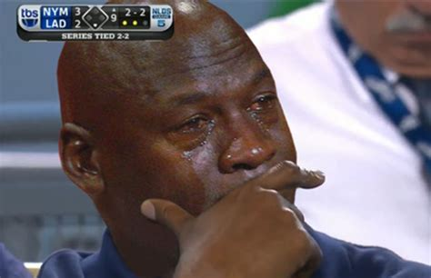 Michael Jordan Crying Meme - there is now a cutout michael jordan crying face halloween mask because why not complex
