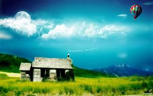 Download Wallpaper 1920x1200 Dream Home HD Background