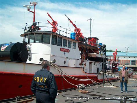 Fireboat Firefighter by Fdny