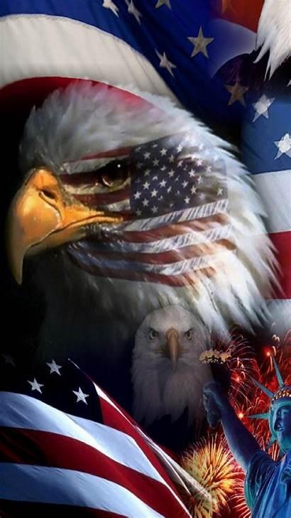 Eagle Patriotic Wallpapers Flag Usa Iphone Plus