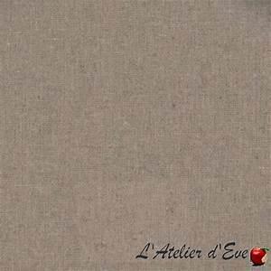 Nappe Toile Enduite : nappe de table ronde enduite naturelle sur mesure evedeco ~ Teatrodelosmanantiales.com Idées de Décoration