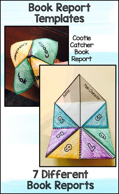 Jump to navigation jump to templatedata for graphic novel list. Book Report Templates - Cubes Cootie Catcher Graphic Novel ...