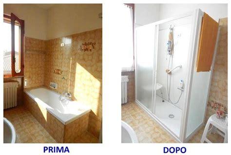 cambiare vasca con doccia sostituzione vasca con doccia