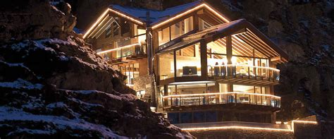 chalet on the luxury chalets