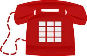 Red Phone Clip Art