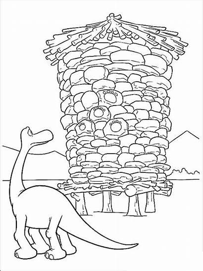 Dinosaur Coloring Pages Printable Cartoon Bright Choose