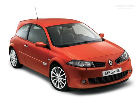 renault megane sport renault megane rs coupe specs 2006 2007 2008 2009