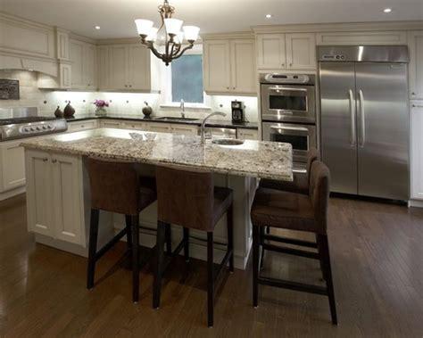Custom Kitchen Islands with Seating   Kitchen   Kitchen