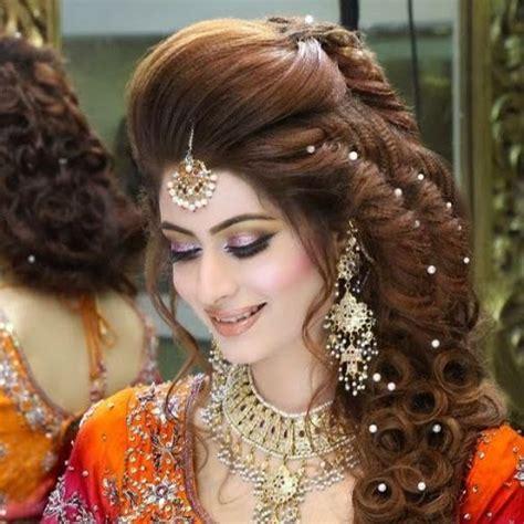 pics  kashees brides google search hairstyle  wedding day bridal makeup kashees hairstyle