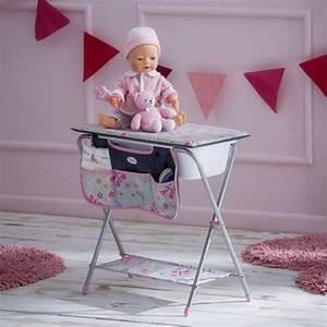 Accessoire Table à Langer : table langer pour poup e baignoire poupon jouet fille ~ Teatrodelosmanantiales.com Idées de Décoration