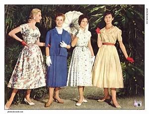 Mode Femme Année 50 : mode femme 1957 ~ Farleysfitness.com Idées de Décoration