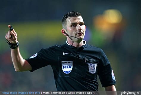 Premier League Referee Michael Oliver Plucked From Crowd ...