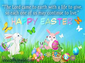 Happy Easter Wishes Quotes - Cathy