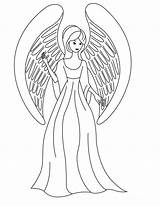 Angel Coloring Pages Printable Anime Angels Guardian Christmas Games Adults Archangel Sheets Colouring Fun Adult Chibi Svg Scut Courtesy Devil sketch template
