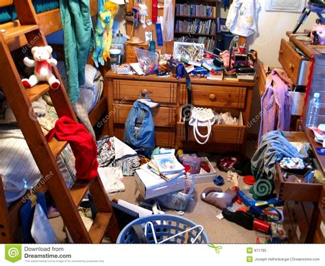 Messy Bedroom stock image. Image of housework, disaster