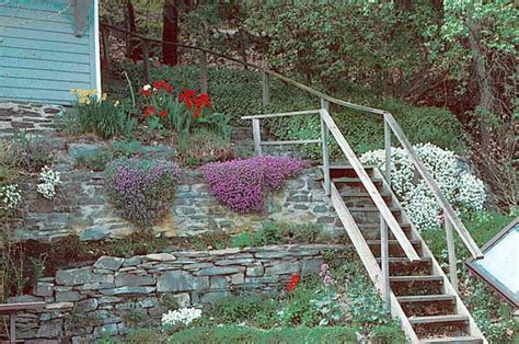 steep garden landscaping ideas landscaping a steep bank terracing is often necessary for flower gardens on steep slopes