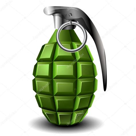 vector granada de mano granada de mano vector de