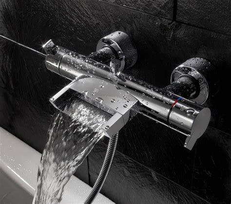 robinet baignoire leroy merlin bel effet cascade salle de bains buanderie salle de bain baignoire et robinetterie salle