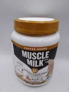 Next time i will just put milk and sugar with my coffee to get the same effect. Muscle Milk Coffee House Caffeinated Protein Powder, Mocha Latte 30.9 oz | eBay