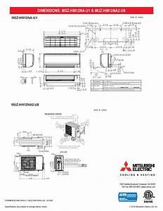 Mini Split 12 000 Btu Mitsubishi 18 Seer Heat Pump System