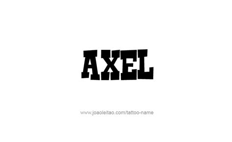 axel  tattoo designs