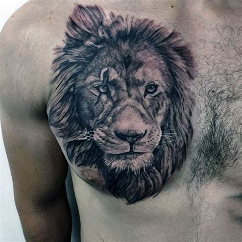 lion tattoo  chest designs ideas  meaning tattoos