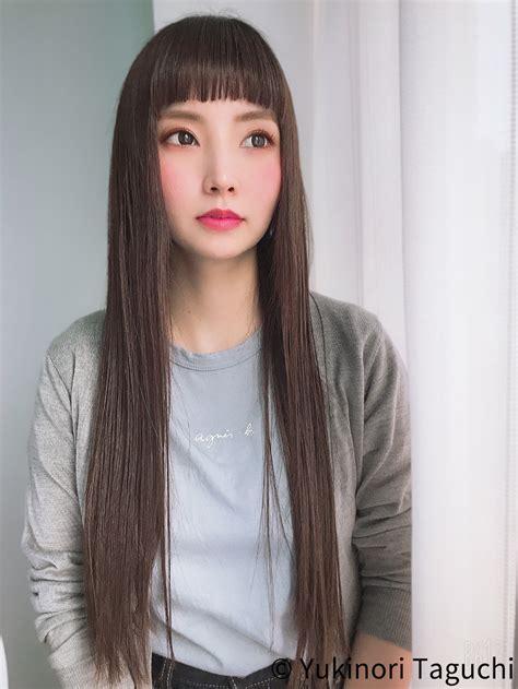 前髪 ぱっつん