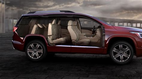GMC Car : 2017 Gmc Acadia Shows Radical Redesign