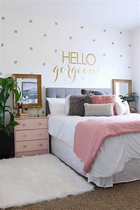 surprise teen girl39s bedroom makeover teen room makeover With super cute teenage girls room